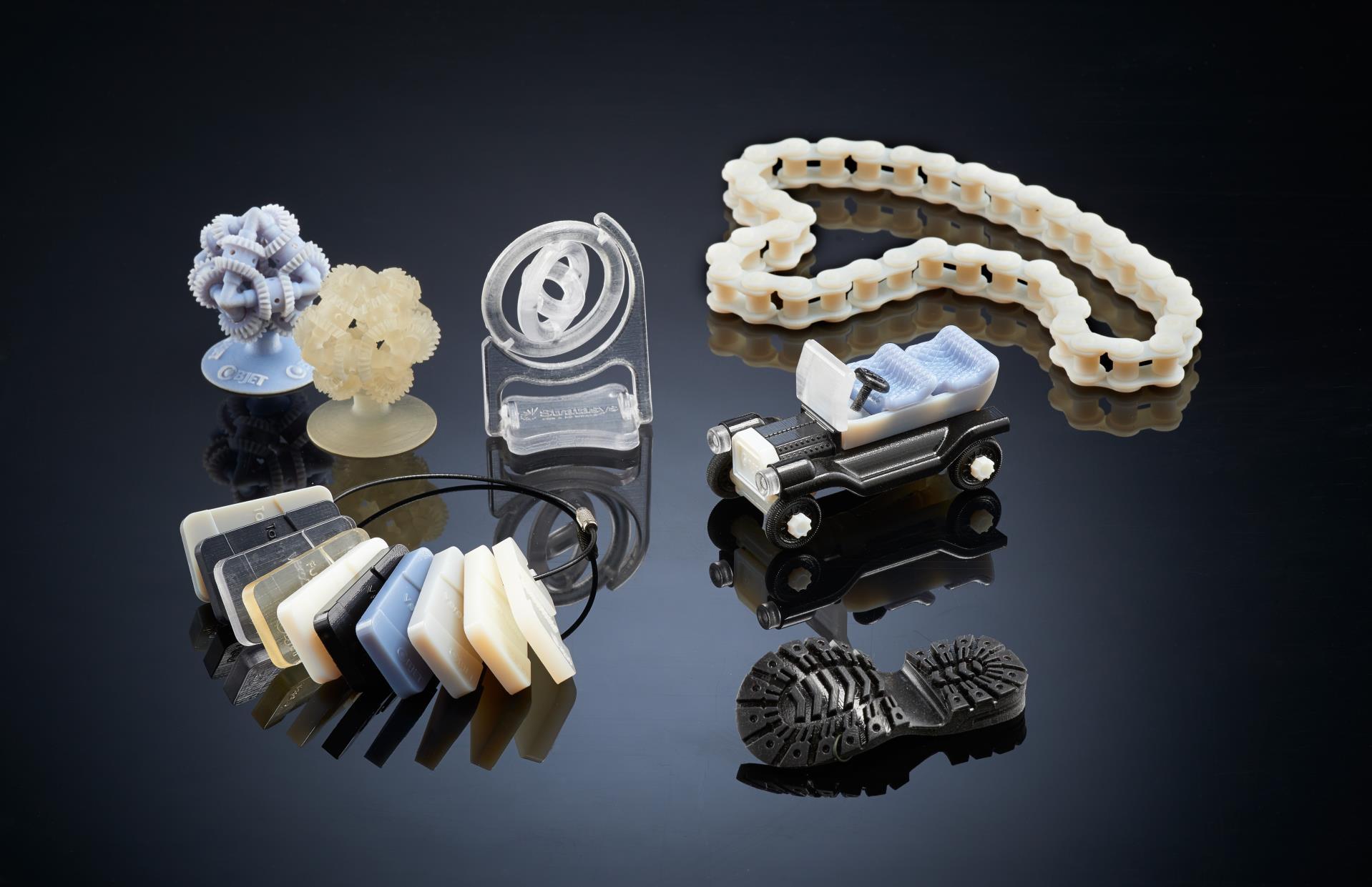 3D-print-objekter-gruppe